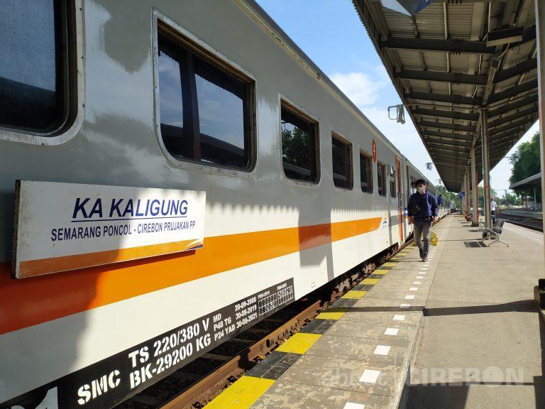 KA Kaligung Relasi Cirebon – Semarang Kembali Beroperasi, Ini Syaratnya