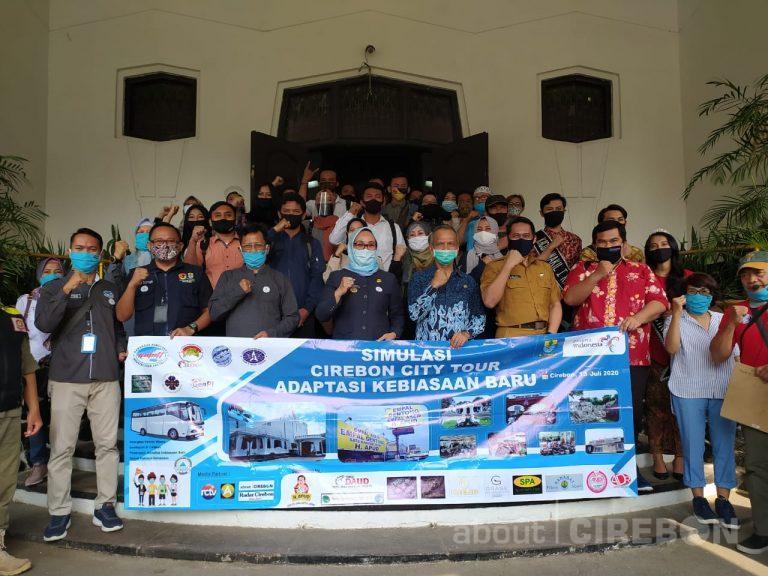 Gabungan Organisasi Pariwisata Wilayah III Cirebon Gelar Simulasi City Tour