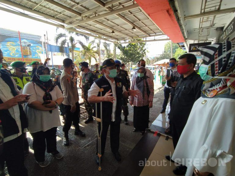 Walikota Cirebon : Saat Monitoring, Masih Banyak Masyarakat Tidak Menggunakan Masker