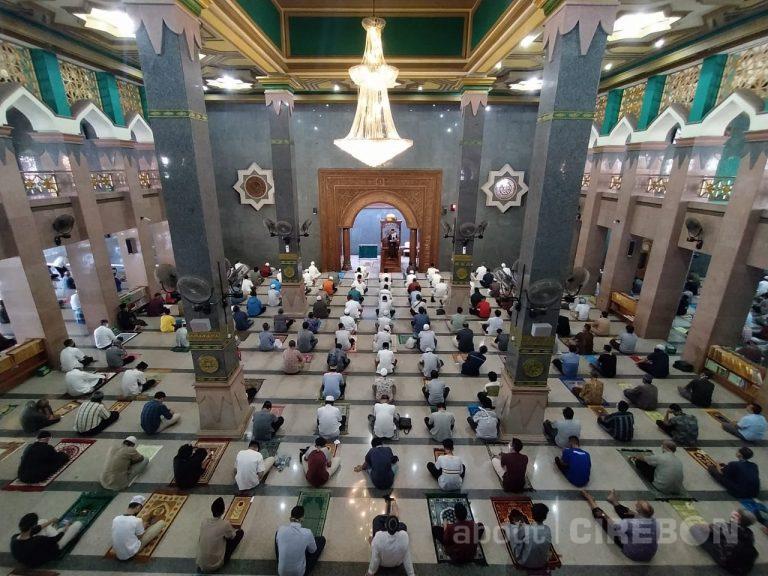 Masjid Raya At-Taqwa Gelar Salat Iduladha dengan Menerapkan Protokol Kesehatan