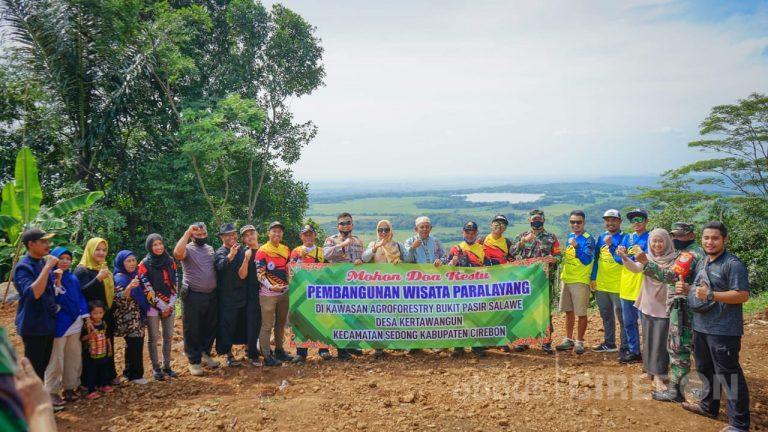 Bukit Salawe Sedong Bakal Jadi Objek Wisata Paralayang
