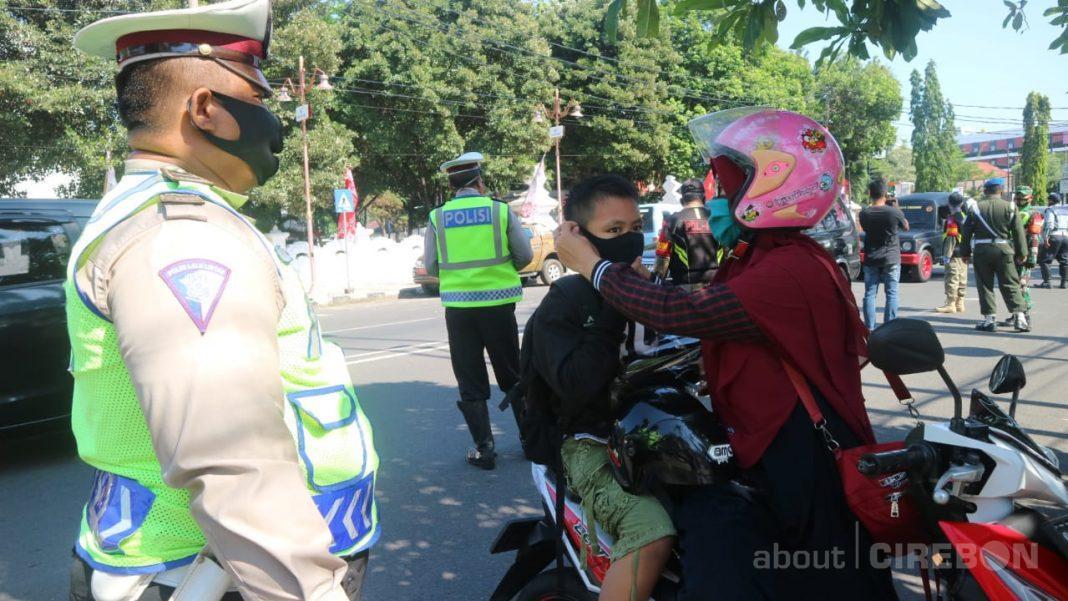 Razia Masker, Petugas Gabungan di Kota Cirebon Belum ...