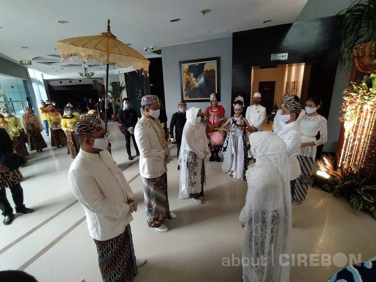 Menuju Masa AKB, Penyelenggara Pernikahan di Cirebon Lakukan Simulasi Wedding New Normal