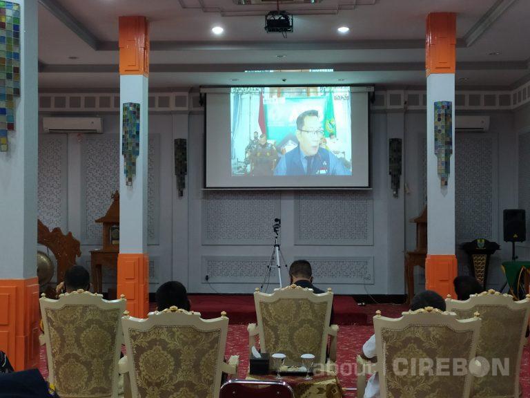 Pesan Gubernur Jawa Barat Hasil Evaluasi Penanganan Covid-19 di Kota Cirebon