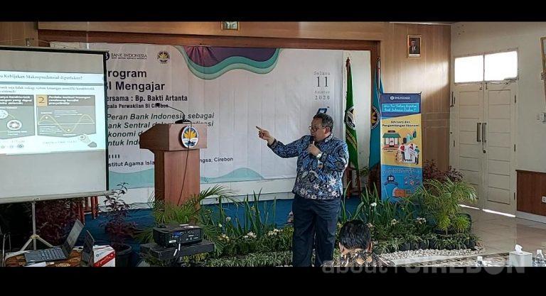 Dukung Dunia Pendidikan, BI Cirebon Hadirkan Program BI Mengajar