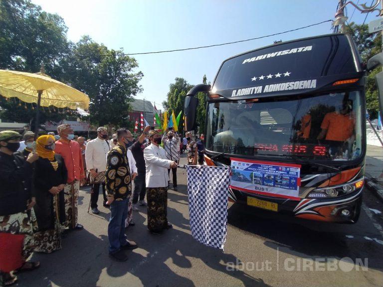 Bangkitkan Pariwisata Kota Cirebon, Gabungan Pelaku Wisata Gelar Simulasi City Tour Kota Pusaka