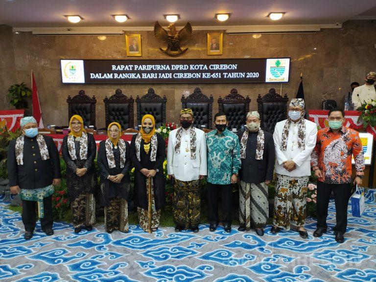 Di Hari Jadi ke-651, Walikota Cirebon Minta Elemen Masyarakat Bersatu Padu