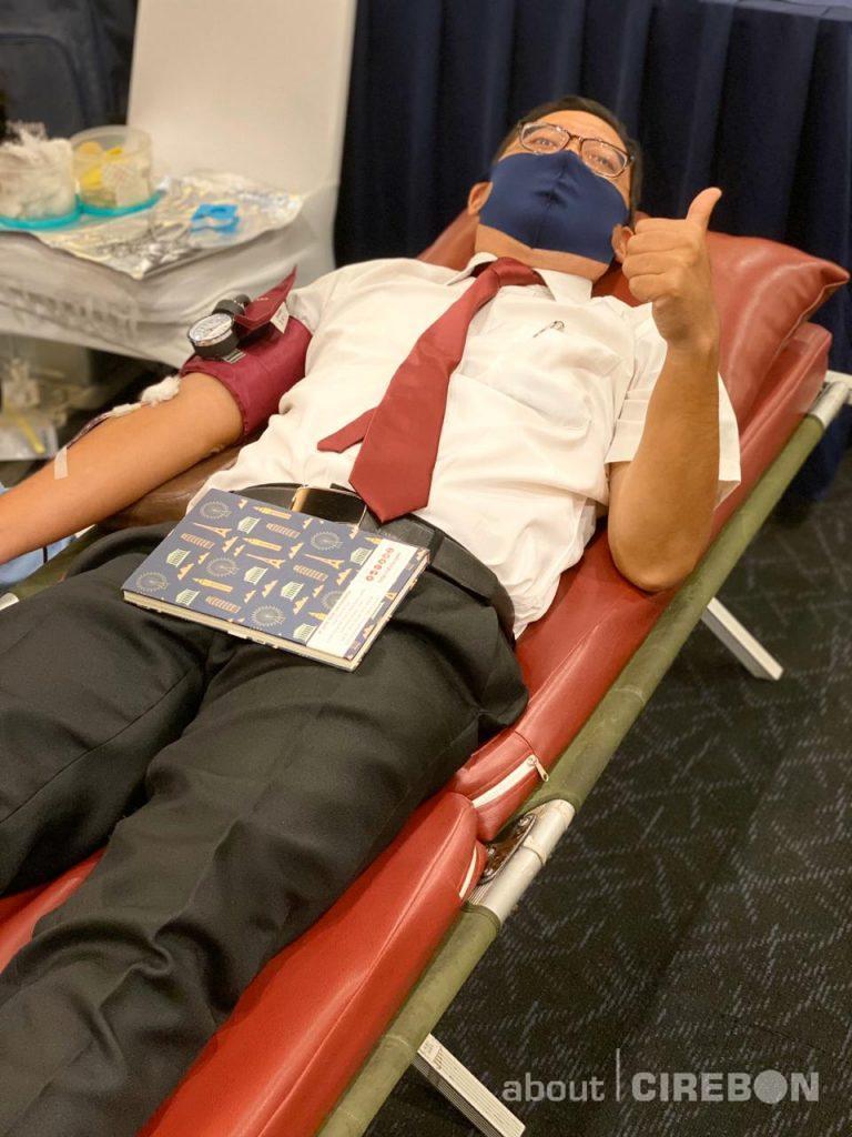 Aston Cirebon Hotel Gelar Donor Darah dengan Menerapkan Protokol Kesehatan