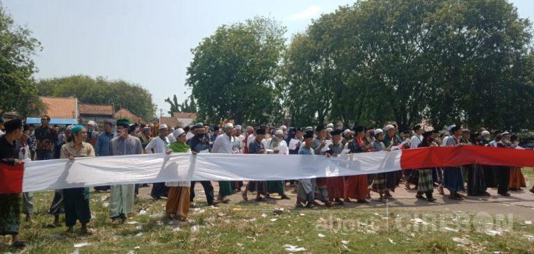 Ratusan Santri dari Wilayah III Cirebon Menolak Jelang Jumenengan Sultan Kasepuhan XV