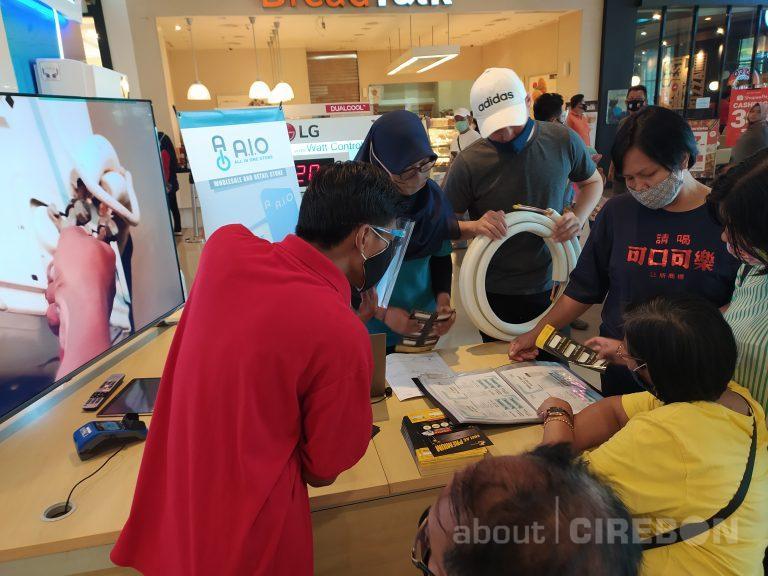 Berikan Edukasi Pemasangan AC, A.I.O Store Gelar Pameran di Mall