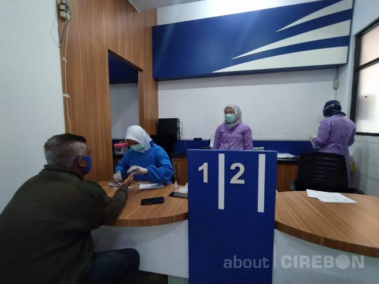 Layanan Rapid Test di Stasiun Cirebon Capai 2.961 Calon Penumpang 