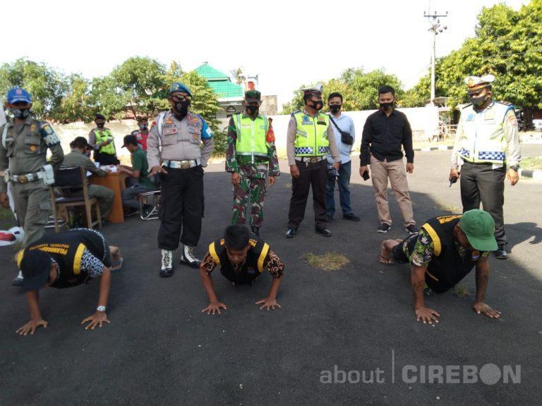 Hari Kedua Razia Masker, Petugas Gabungan di Kabupaten Cirebon Masih Banyak Temukan Pelanggar