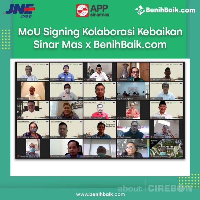 Yayasan Muslim Sinar Mas, BenihBaik.com, dan JNE Ajak Masyarakat Donasikan Al Quran