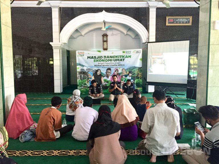 ACT Cirebon Ajak Masjid Bantu UMKM dengan Wakaf Modal Usaha Mikro