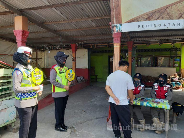 Dalam Sehari, Lebih dari Seribu Pelanggar Terjaring Razia Masker di Kabupaten Cirebon