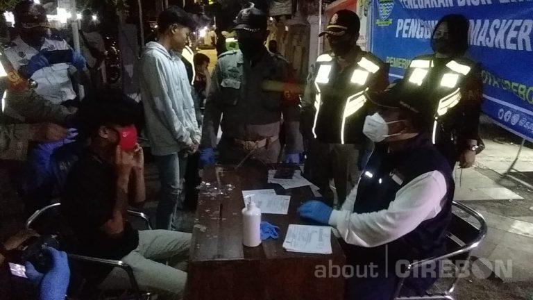 Pemkot Cirebon Gencar Razia Masker, Akhir September Perda Masker Disahkan