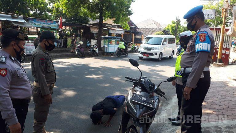 Hari Keempat, 150 Orang Pelanggar Protokol Kesehatan Terjaring Petugas Gabungan di Kabupaten Cirebon
