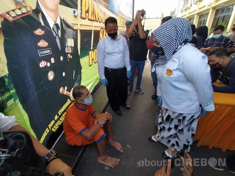 Satreskrim Polresta Cirebon Berhasil Tangkap Kakek yang Cabuli Anak di Bawah Umur