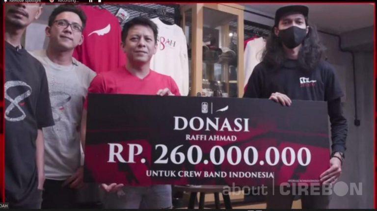 Noah Berhasil Kumpulkan Donasi Rp. 700 Juta Untuk Crew Band Indonesia