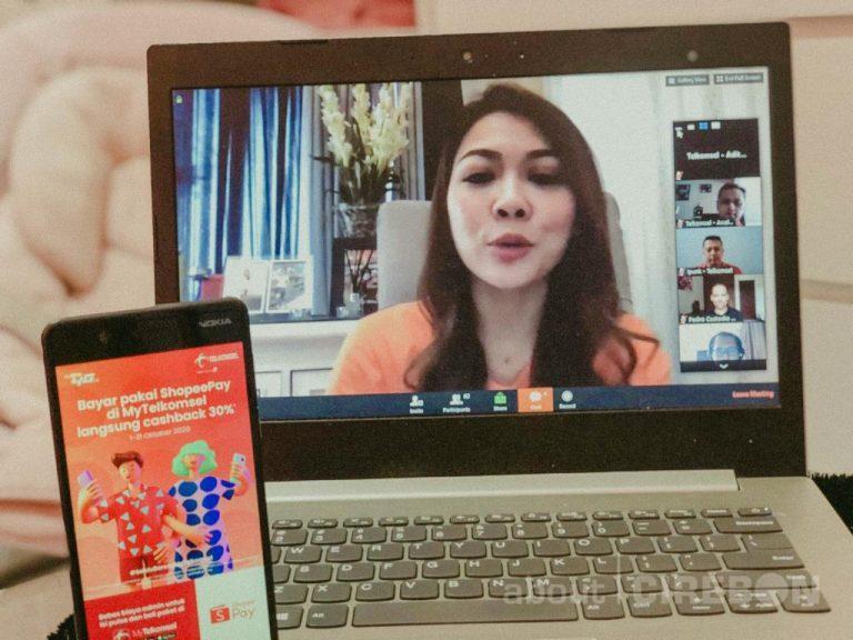 Mempermudah Pembayaran, ShopeePay Kolaborasi Dengan Telkomsel