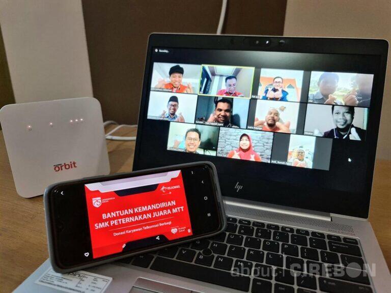 Tingkatkan Kemandirian, Telkomsel Berikan Bantuan Untuk SMK Peternakan Juara MTT