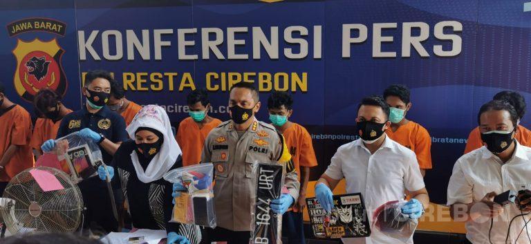 Polresta Cirebon Ringkus Empat Pelaku Curas