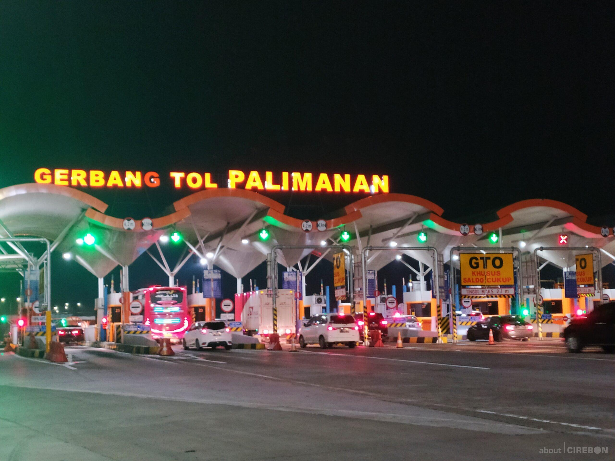 Jelang Libur Panjang Volume Kendaraan Di Gerbang Tol Palimanan Masih Terpantau Lancar
