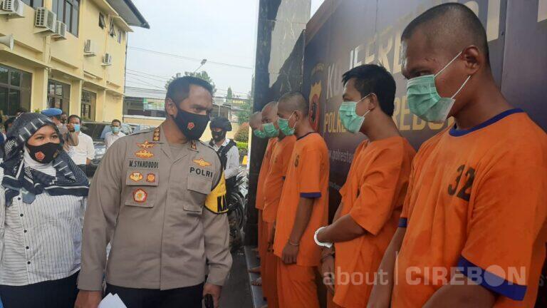 Satreskrim Polresta Cirebon Ciduk Pengepul Judi Togel Online