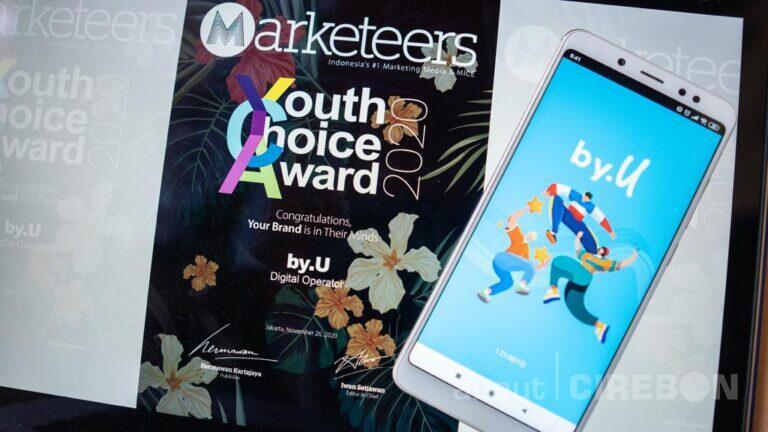 by.U Telkomsel Dapat Predikat Brand Pilihan Generasi Z di Indonesia