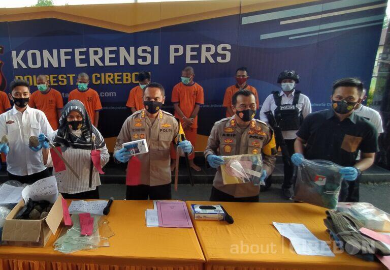 Polresta Cirebon Ringkus Begal dan Pencuri HP