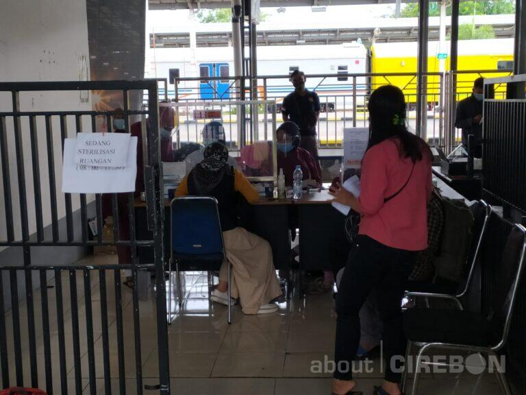 Daop 3 Cirebon Sediakan Layanan Rapid Test Antigen