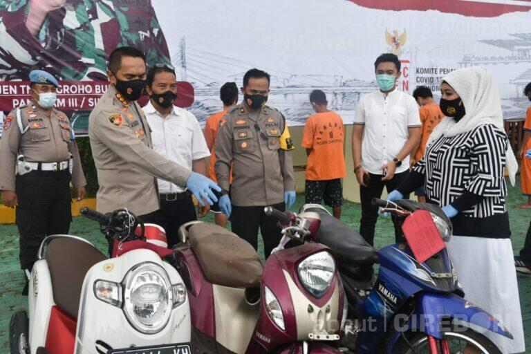 Lima Pelaku Curat Diamankan Jajaran Polresta Cirebon