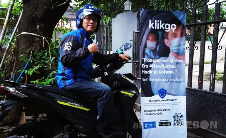 Terbiasa di Lapangan, Pendiri Yayasan Sosial ini Ikut Jadi Driver Ojol