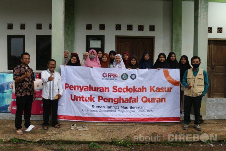 Kasur Baru untuk Santri Rumah Tahfidz Mari Beriman Majalengka