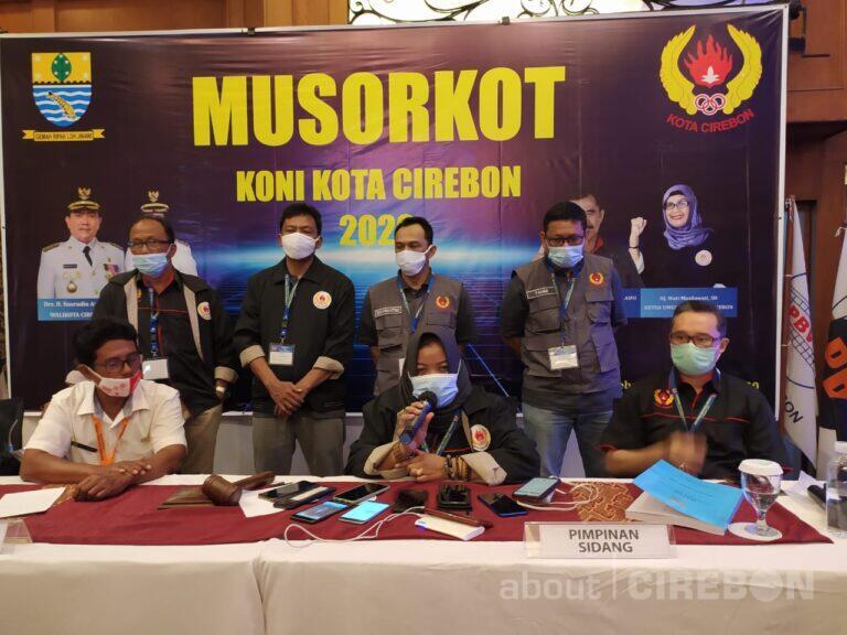 Wati Musilawati Kembali Terpilih Menjadi Ketua Umum KONI Kota Cirebon