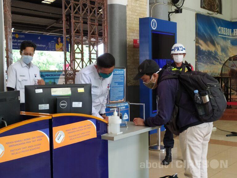 10.567 Tiket KA Terjual di Daop 3 Cirebon di Masa Libur Nataru