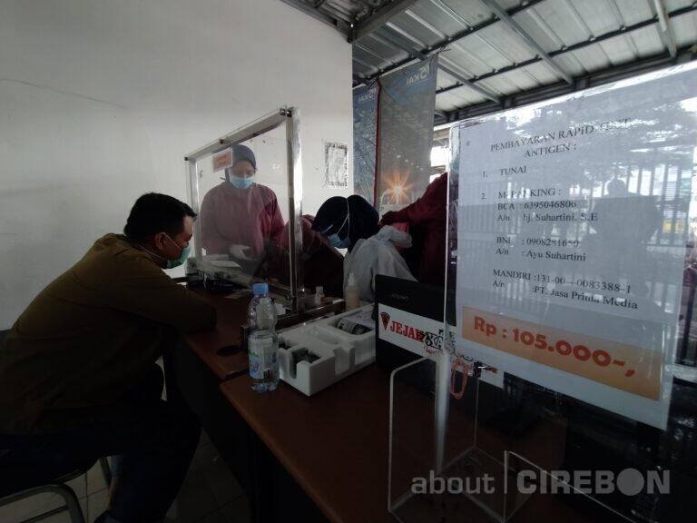 13 Calon Penumpang KA di Daop 3 Cirebon Positif Hasil Rapid Test Antigen