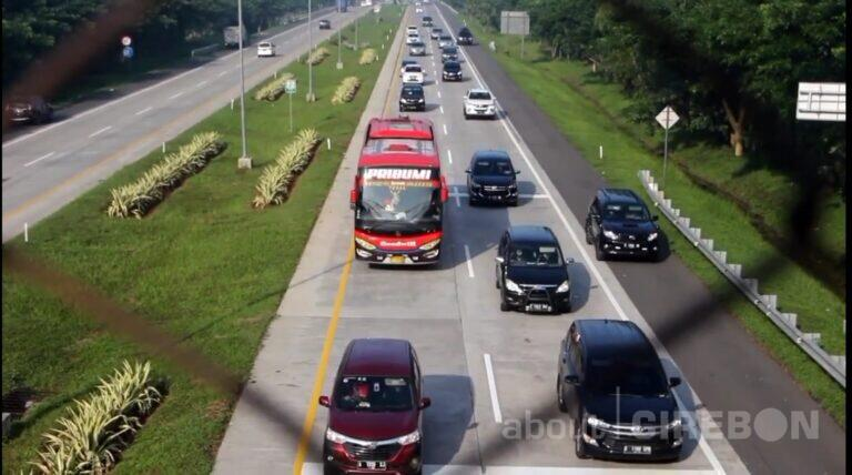 Sejak Pagi Tadi, Kendaraan yang Melintas di Gerbang Tol Palimanan Rata-rata 3.000 per Jam