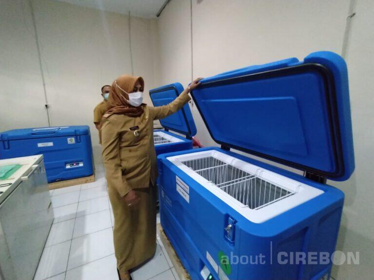 Dinkes Kabupaten Cirebon Sudah Siapkan Tempat Penyimpanan Vaksin