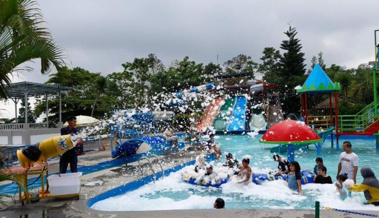 The Mountain Waterpark Kuningan Tingkatkan  Kenyamanan dan Keamanan Pengunjung