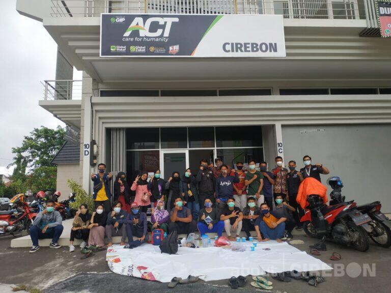 Dua Hari Galang Dana, ACT dan Komunitas Cirebon Kumpulkan Jutaan Rupiah