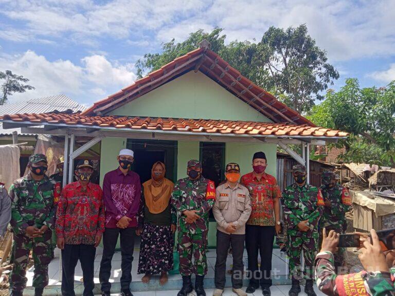 8 Rumah Korban Puting Beliung Rampung Diperbaiki Kodim 0620/Kabupaten Cirebon