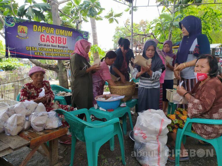 Bantu Warga, Kuwu Suranenggala Kulon Inisiatif Dirikan Dapur Umum