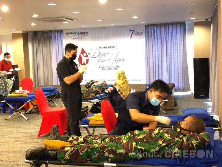 Peringati HUT ke-7, Metland Hotel Cirebon Gelar Kegiatan Sosial