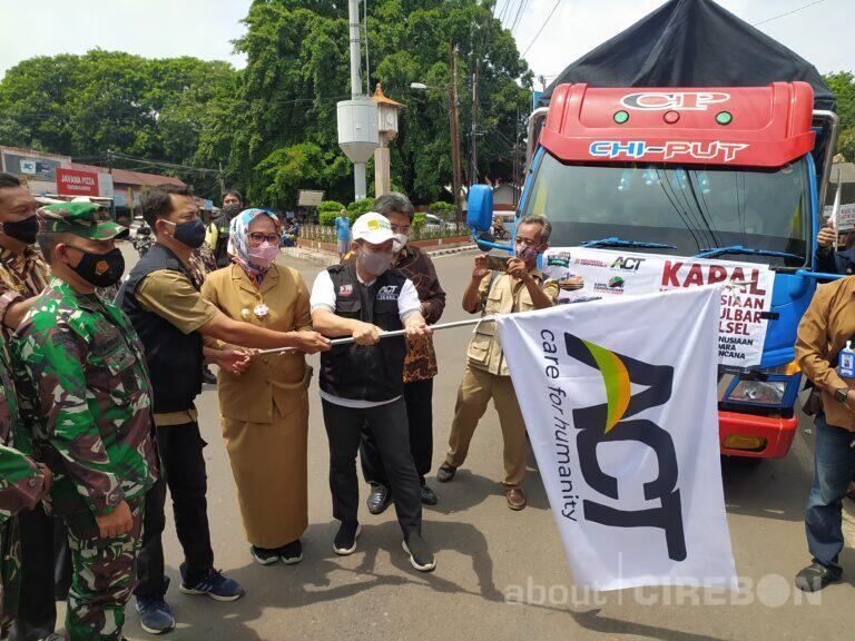 ACT Cabang Cirebon Kirim Bantuan Untuk Sulbar dan Kalsel