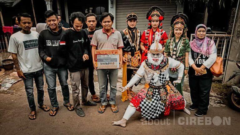 Seniman Tergerak, Bantu Desa Slangit dengan Kesenian Cirebon