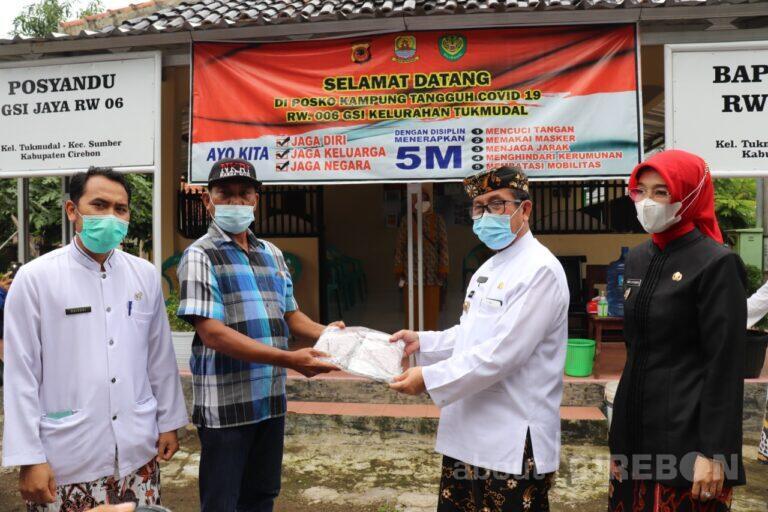 Bupati dan Wakil Bupati Monitoring Protokol Kesehatan
