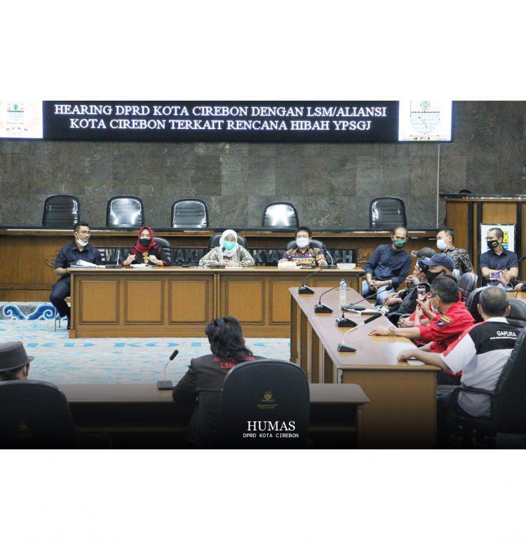 Rencana Hibah Lahan untuk YPSGJ, DPRD Kota Cirebon Dapat Dukungan