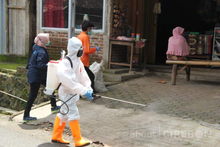 Positif Covid 19 Terus Bertambah, Relawan di Cirebon Aktif Bantu Pencegahan