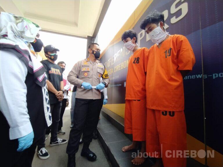 10 Anggota Gengster yang Terlibat Bentrok Diamankan Polresta Cirebon